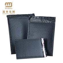 Starke selbstklebende Dichtung schwarz Farbe benutzerdefinierte Kurier Luftpolsterfolie Taschen