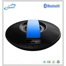 LED Display UFO Portable Bluetooth Speaker with Clock