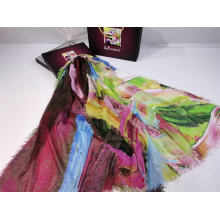 2020 New Arrival Fashion Women Digital Print Twill polyester Scarf  Travel Sunscreen Shawl