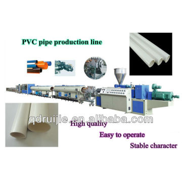 High quality-PVC plastic pipe extrusion line