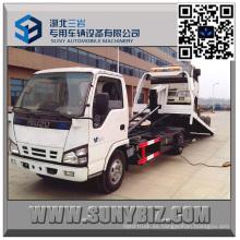 Camión de recuperación de plataforma plana de 9 toneladas Isuzu Full Landing