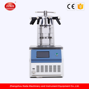 Small Pilot Pharmaceutical Herbal Freeze Dryer