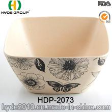 Eco-Friendly BPA Free Bamboo Fiber Bowl (HDP-2073)