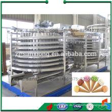 China Doppel Spirale Schnell Gefriermaschine Maschine