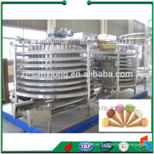 China Double Spiral Quick Freezer Machine