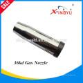 Alta calidad y precio de fábrica BW36KD refrigerado por aire MIG / MAG / CO2 difusor de gas de la antorcha de soldadura