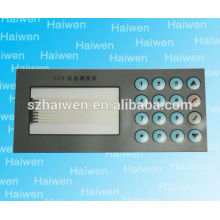Screen Printing PET/PC name plate, membrane panel for hospital