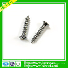 Cross Recessed Countersunk Head Self Tapping Screw