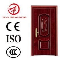 Puerta de seguridad de hierro barata