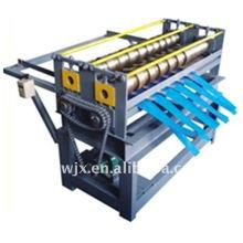 Machine simple de fente de plaque d'acier de couleur de QJ