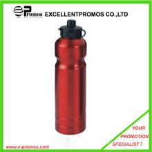 Werbe-Logo gedruckt Günstige Aluminium-Flasche für Wasser (EP-MB1014)