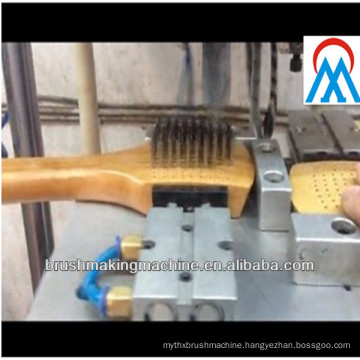 2 axis brush making machine