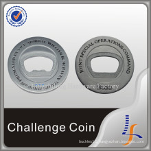 Metal 3D Silver Bottle Opener Coins