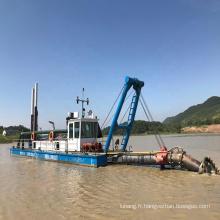Navire de dragage aspirant de 16 pouces (2000cbm/h)/machine de dragage de sable utilisée dans la rivière