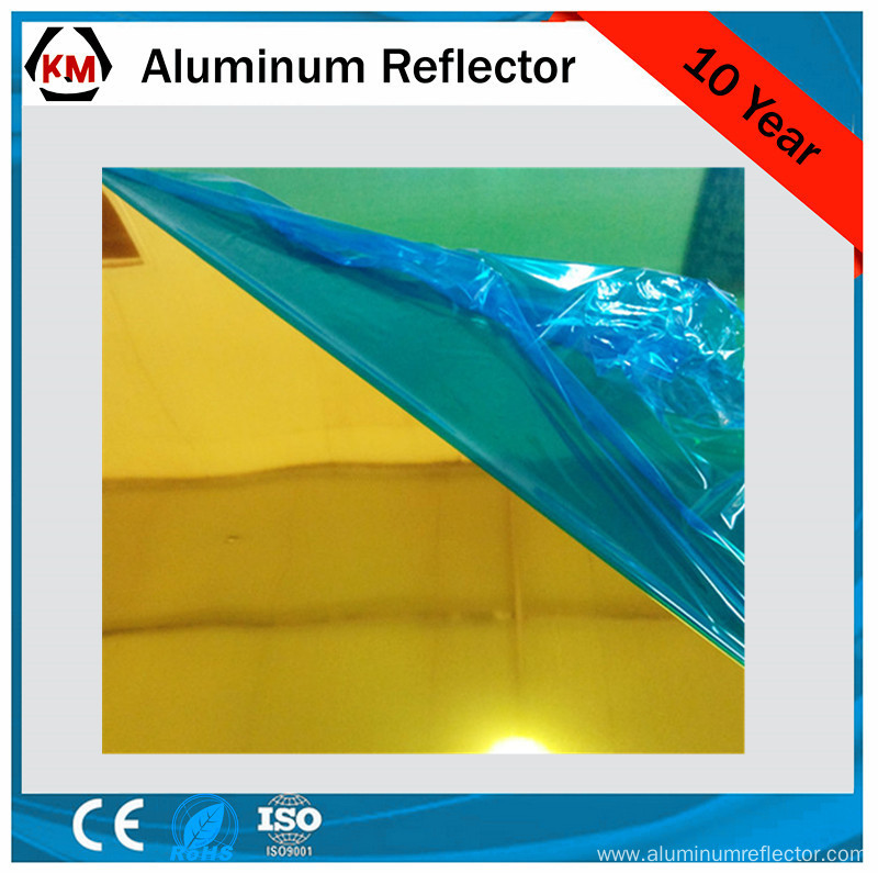 aluminum reflective mirror layers