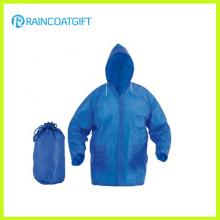 Manteau de pluie imperméable à l'eau des hommes écologiques