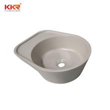 Wholesale Bathroom Sink Wash Basin White Round Countertop Bathroom Basins