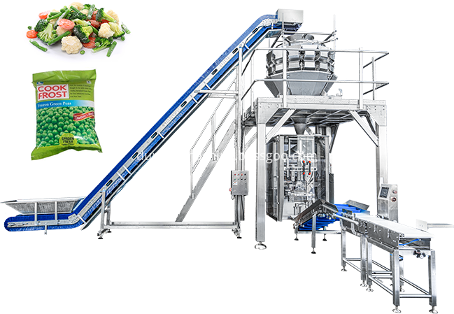 Frozen Food Packing Machine Png