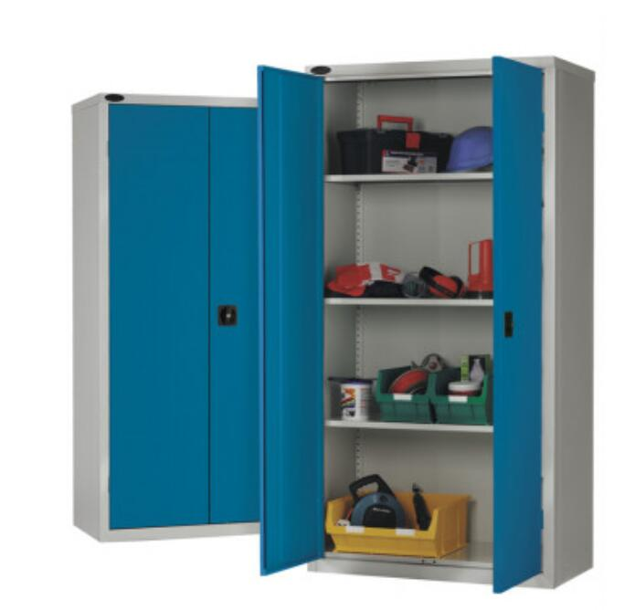 Blue tool cupboard