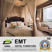 Muebles clásicos de madera del dormitorio del hotel (EMT-SKB05)