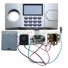 Electronic safe lock with LCD