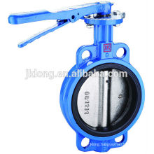 1501 Cast Iron manual flange wafer Butterfly valves