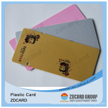 OEM Plastic Hole Punch PVC Combo Cards