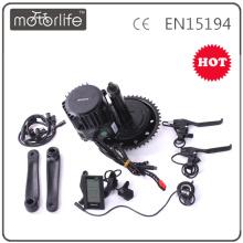 MOTORLIFE 48V 1000W BBSHD kit de moteur de manivelle de bafang BBS01-02 kit de conversion de vélo électrique Chine