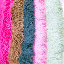 Tecido de lã PV tingido