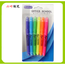 6pk Highlighter Pen, Stationery Set, Dollar Item Back to School