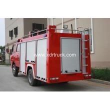 Dongfeng 3ton Tipo de água Bomba de bombeiros Euro5