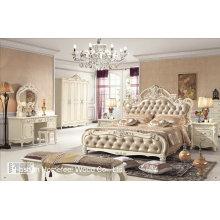 Antikes europäisches Design-Schlafzimmer-Set (HF-MG014)