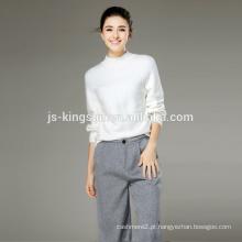 Pulôver personalizado camisola feminina 2016 sweater fábrica na China