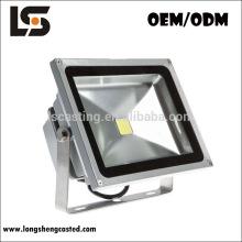 La nueva luz al aire libre del nuevo producto del diseño cubre las piezas de la luz de inundación de fundición a presión a troquel de aluminio