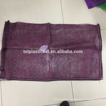 Environmental Protection PP leno mesh bag for vegetable fruits firewood packing