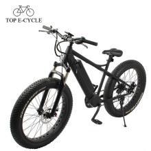 Electric chopper e bike fat bike suspension fork