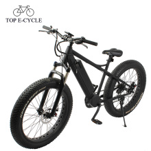 Garfo de suspensão de bicicleta elétrica e bicicleta gordo de suspensão