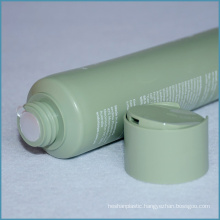 100ml Plastic Cosmetic Tube with Disc Cap