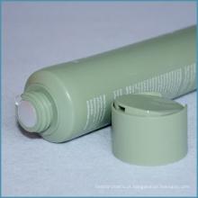 Tubo cosmético plástico de 100ml com tampão de disco