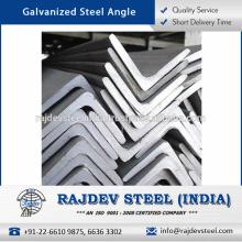 Alta resistencia, excelente resistencia, resistencia química Ángulo de acero galvanizado