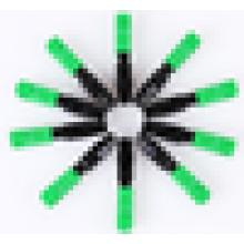 10PCS / pack Ftth оптический разъем SC / UPC APC покрытый провод быстровозводимый оптический разъем, быстрый разъем SC / APC