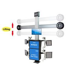 3D wheel alignment machine auto shop equipment for 4 post lift