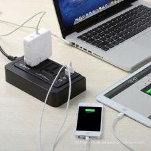 ORICO OPC-2A4U Multifunktions-USB-Ladegerät-Buchse mit vier Ladegerät USB-Ladegerät-Port