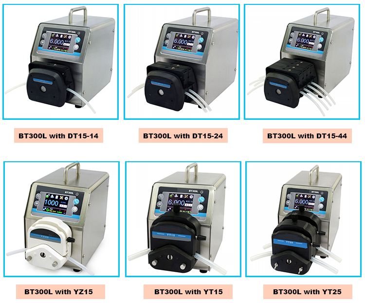 silicone tube peristaltic pump