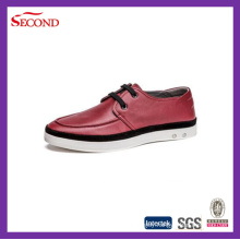 Three Colors Leather Men Shoes