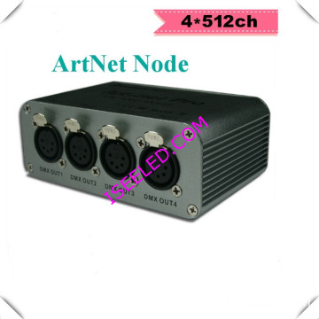 Artnet Node 3D Visualizer DMX 4universe