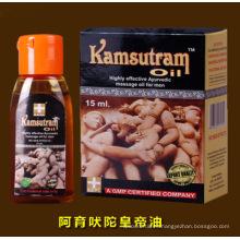 Kamsutram aceite de masaje ayurvédico altamente eficaz para los hombres 15ml