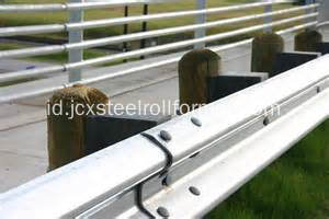 Crash Barrier Highway Guardrail Mesin Roll Forming