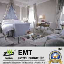 Guangdong White Perfect Luxury Hotel Bedroom Furniture Sets (EMT-SKB13)