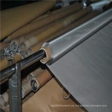 Malla de impresión de pantalla de acero inoxidable 304L